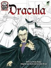 Color Your Own Graphic Novel DRACULA Dover Classic Stories Coloring Book