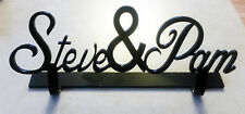 Couples Names table topper, personalized, wedding or sweethearts