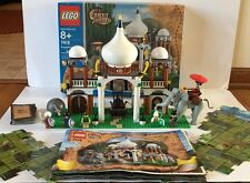 LEGO 7418 Orient Expedition Scorpion Palace Complete Elephant Minifigures Manual