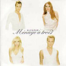 CD SINGLE ALCAZAR Menage a trois  2 tracks CARD SLEEVE