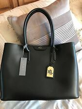 Ralph Lauren Leather Tote City Bag