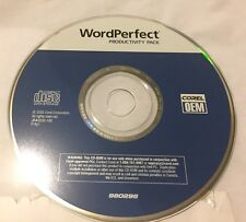 Corel WordPerfect Productivity Pack 2003 Software Word Perfect Corel Office