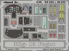 Eduard Zoom FE232 1/48 Mikoyan MiG-15 Fagot Trumpeter