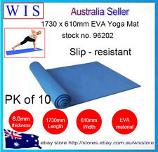Wholesale 10x6mm EVA Yoga Mat, Non-slip Pad for Exercise Fitness Pad Lose Weight