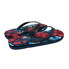 Flip Flops Mens O'Neill Keanu Floral Print Beach Holiday UK Size 7 EU Size 40