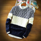 2015 New Men Casual Retro Slim Fit Knitted Cardigan Pullover Jumper Sweater Tops