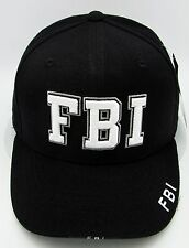 Rapid Dominance FBI Ball Cap Hat US Law Enforcement 3DEmbroidered Adult OSFM NWT