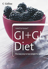 GI and GL Diet by HarperCollins Publishers  BRAND NEW PAPERBACK   L3