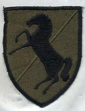 Early Vietnam Era US Army 11th Armored Air Cavalry Regt Subdued Patch Cut Edge