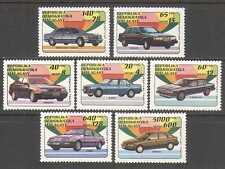 Madagascar 1993 Cars/Transport/Motors 7v set (n23953)