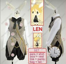 VOCALOID 2 Len Alice In Musicland Cosplay Costume Custom Any Size