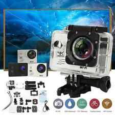 H9 4K Waterproof Action Camera 2.0'' LCD HD 170º WiFi Sports DV + Remote Control