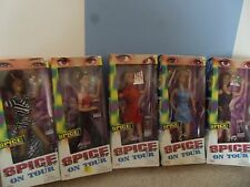 SPICE GIRLS ON TOUR  ALL 5 DOLLS IN ORIG BOXES