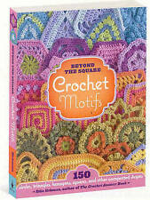Beyond the Square Crochet Motifs Edie Eckman Hardback NEW Book Free UK Shipping