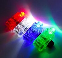 WHOLESALE FINGER LIGHT UP RING LASER LED RAVE DANCE PARTY FAVORS GLOW BEAMS UK