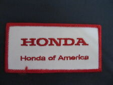 Vintage Honda America  Motorcycle Biker Vest Jacket Hat Patch Crest Dirt Bike BB