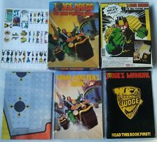 Unpunched Judge Dredd The Role Playing Game RPG Games Workshop 1985
