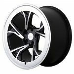 "19"" Radi8 R8C5 Wheels - Gloss Black Machined - VW / Audi / Mercedes 5x112"