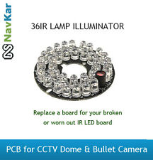 36IR LAMP ILLUMINATOR PCB FOR CCTV CAMERA DOME CAMERA BULLET CAMERA
