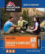 1 - Mountain House Freeze Dried Food Pouch - Chicken & Dumplings with Vegetables