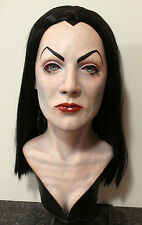 Vampira bust lifesize Plan 9 from Outer Space Maila Nurmi head prop mask Elvira
