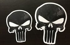 """Punisher Kryptek Typhon 4"""" Sticker Decal 2 pack FREE Shipping Made in USA"""