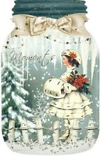 12 HANG/GIFT TAGS  SCRAPBOOK VINTAGE CHRISTMAS IMAGES (265+)