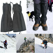 Outdoor Waterproof Hiking Walking Climbing Hunting Snow Legging Gaiters 1 Pair