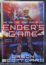 "Ender's Game Book Cover - 2"" X 3"" Fridge / Locker Magnet. Orson Scott Card"