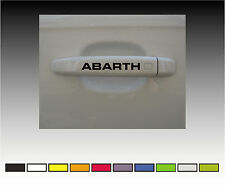 Fiat Abarth  Premium Door Handle Decals Stickers