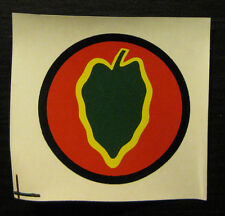 US Army Decal Helmet  WW2 24th Infantry Division