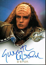 STAR TREK CINEMA 2000 AUTOGRAPH CARD A9 B'ETOR
