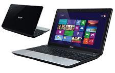 "ACER ASPIRE 15.6"" E1-571 Intel Core i3 4GB 500GB noir ordinateur portable-ex-display bub"
