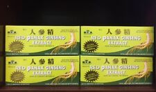 Red Panax Ginseng Extract. 4 Boxes (120 Bottles)