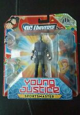 "New 2011 DC Universe Young Justice Sportsmaster Figure 5"" Mattel"