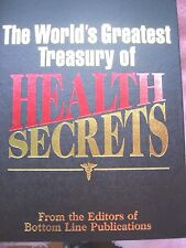 The World's Greatest Treasury of Health Secrets~501 pages of useful information