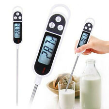 Digital Food Probe Cooking Meat Kitchen BBQ Thermometers Milk Drink Temperature