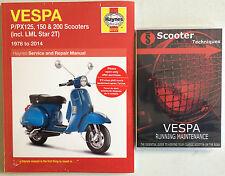 VESPA P/PX/T5 LML Star 125, 150 y 200 con el DVD de mantenimiento Vespa Funcionando