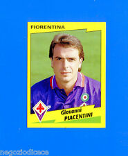 CALCIATORI PANINI 1996-97 Figurina-Sticker n. 104 - PIACENTINI - FIORENTINA -New