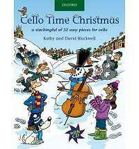 Cello Time Christmas; Book + CD; Blackwell.; Violoncello; Book with CD