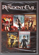 Resident Evil 1, 2, 3, 4 & 5 - DVD Movie Collection BRAND NEW