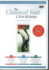NEW DVD THE CLASSICAL SEAT I, II & III by SYLVIA LOCH