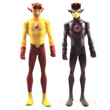 2x DC Universe Young Justice League KID FLASH 4 In. Action Figures Movie Toys