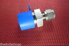 SSP Grip® 1/4 Tube OD x 1/2 NPT Male Pipe STRAIGHT CONNECTOR 316 Stainless Steel