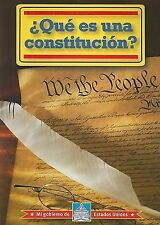 Que es una Constitucion? What is a Constitution? (Mi Gobierno De Estados Unidos)