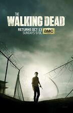 THE WALKING DEAD poster print  : Season 4 : 11 x 17 inches - ANDREW STANTON