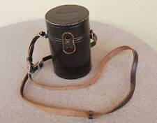 Nikon Nippon Kogaku embossed Lens Case 4.625 tall x 2.75 diam Medium Telephoto