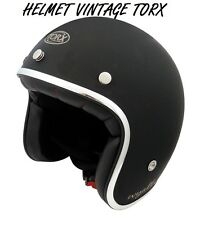 3/4 OPEN FACE VINTAGE MOTORCYCLE SCOOTER HELMET SIZE L