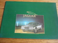 JAGUAR  XJ6 3.4 AND 4.2, SOVEREIGN 4.2 AND HE  SALES BROCHURE  1984