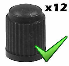 Valve Caps Valves Dust Caps Covers x12 for All Cars *Fast Free Delivery* CPHM